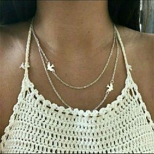 ❤Sale!!! Dove Multi Layer Necklace